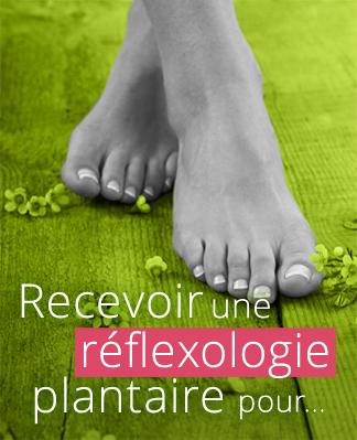 Recevoir une réflexologie plantaire pour…
